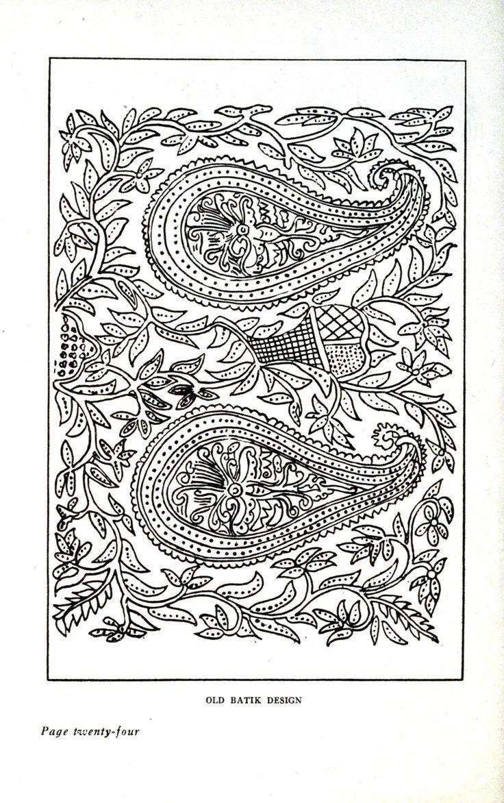Design - Textile - Batik (public domain)