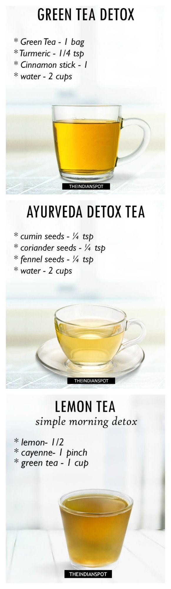 Morning Detox Tea Recipes For Healthy Body And Glowing
