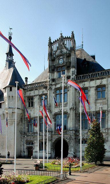 "Hotel de Ville, Saumur, France .................... #GlobeTripper® | https://www.globe-tripper.com | ""Home-made Hospitality"" | http://globe-tripper.tumblr.com/"