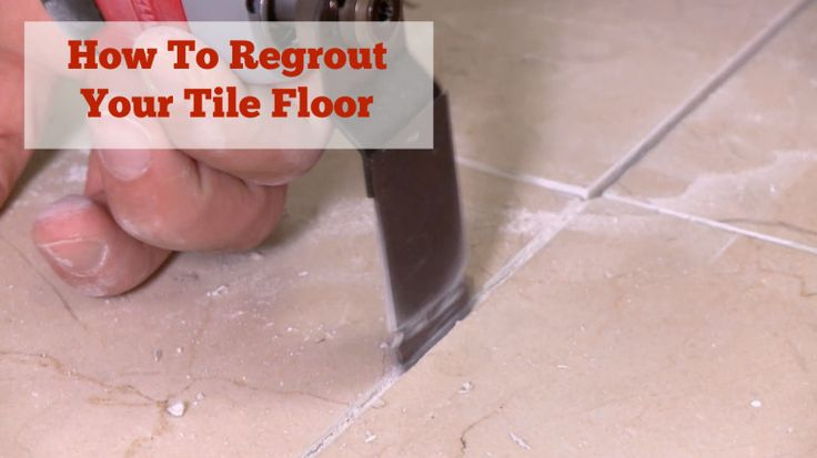 Regrout Tile Floor Weekend Workbench Videos Pinterest Bathroom