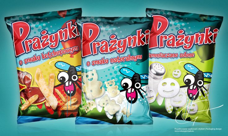 Crisps Packaging design | http://lukasgorniak.eu/portfolio/