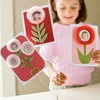 Paper Bouquet ...cute card for grandma
