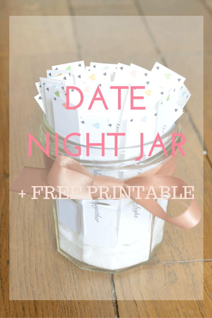 DIY - Date Night Jar + Free Printable !
