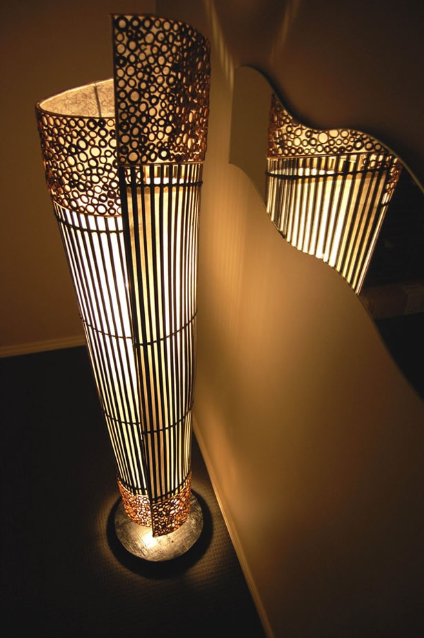 eco friendly and unique bamboo lamp for home interior lighting by zen craft jogja. beautiful ideas. Home Design Ideas