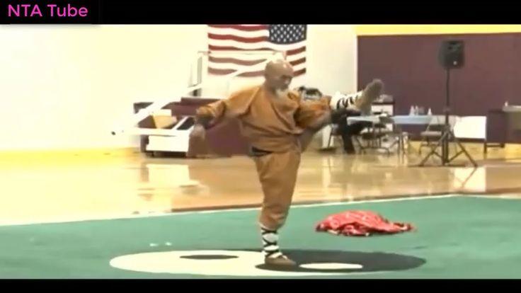 Sư Cụ Biểu Diễn Công Pháp Chùa Thiếu Lâm