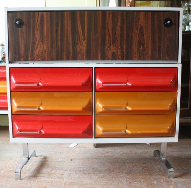 Meubles Vintage Retro Mid Century Mcm Space Age Mid Century Furniture Retro Mid Century Mid Century Dresser
