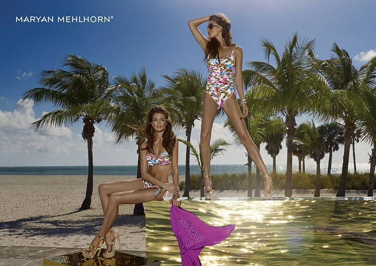 #MaryanMehlhorn Spring Summer collection 2016 #beachwear #costumidabagno #beachfashion #beachstyle #bikini #costumeintero #pareo #modamare #fashion #ss16
