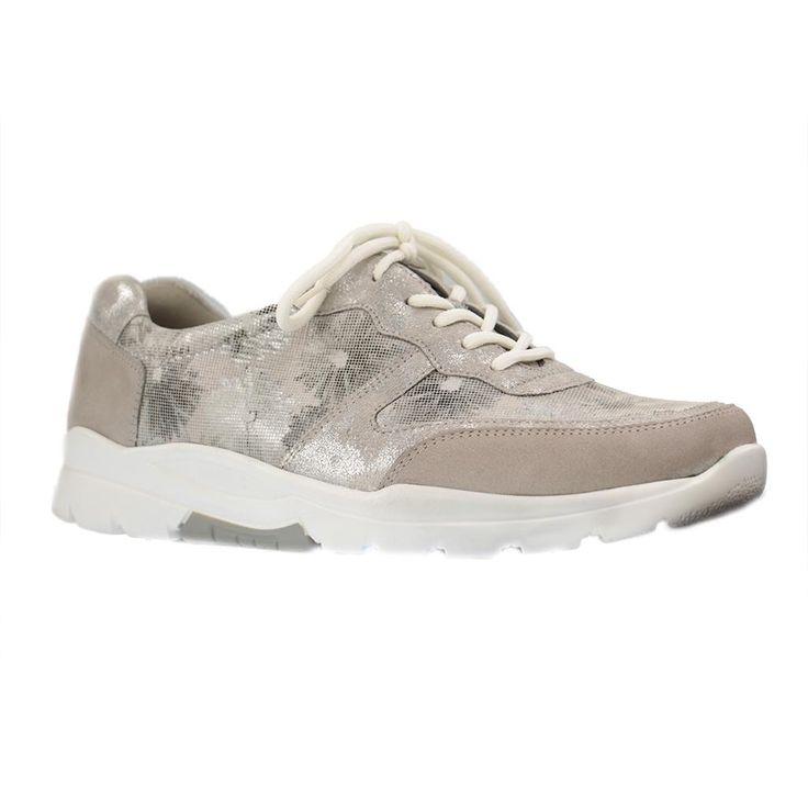 WALDLÄUFER - Haruka - Damen Sneaker - Grau Schuhe in Übergrößen - Größe 42, 43, 44, 45, 46 Hier entdecken und shoppen: https://www.schuhxl.de/damenschuhe/sneaker/waldlaeufer-damenschuhe-sneaker-grau-schuhe-in-uebergroessen/a-11479/