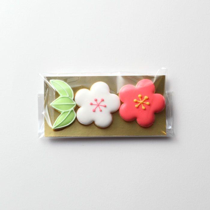 プチギフト( お菓子 和風 ) アイシングクッキー 和花 10個セットのお申し込み|LOUNGE WEDDINGのプチギフト