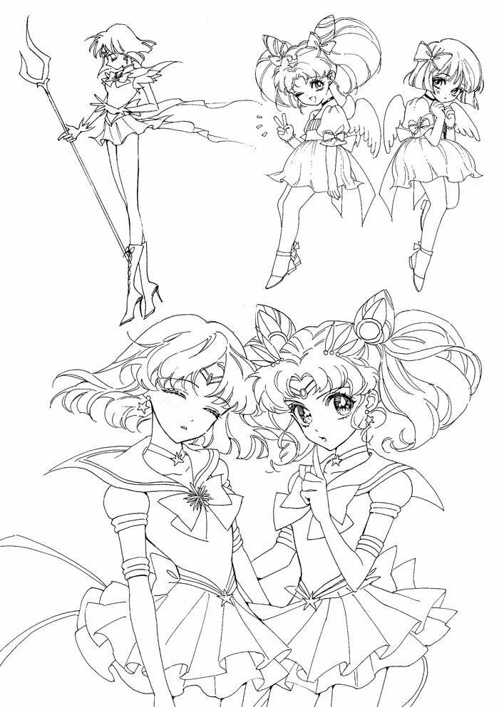 Princess Moon   Sailor scouts   Pinterest