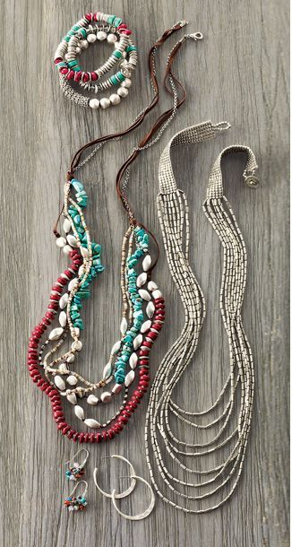 Southwest-inspired jewelry