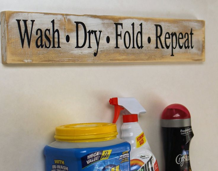 Wash Dry Fold Repeat Carved Wood Sign -Rustic Laundry Room Decor - Laundry Sign - Rustic Wood Hand Painted Sign - Laundry Room Sign by Gratefulheartdesign on Etsy