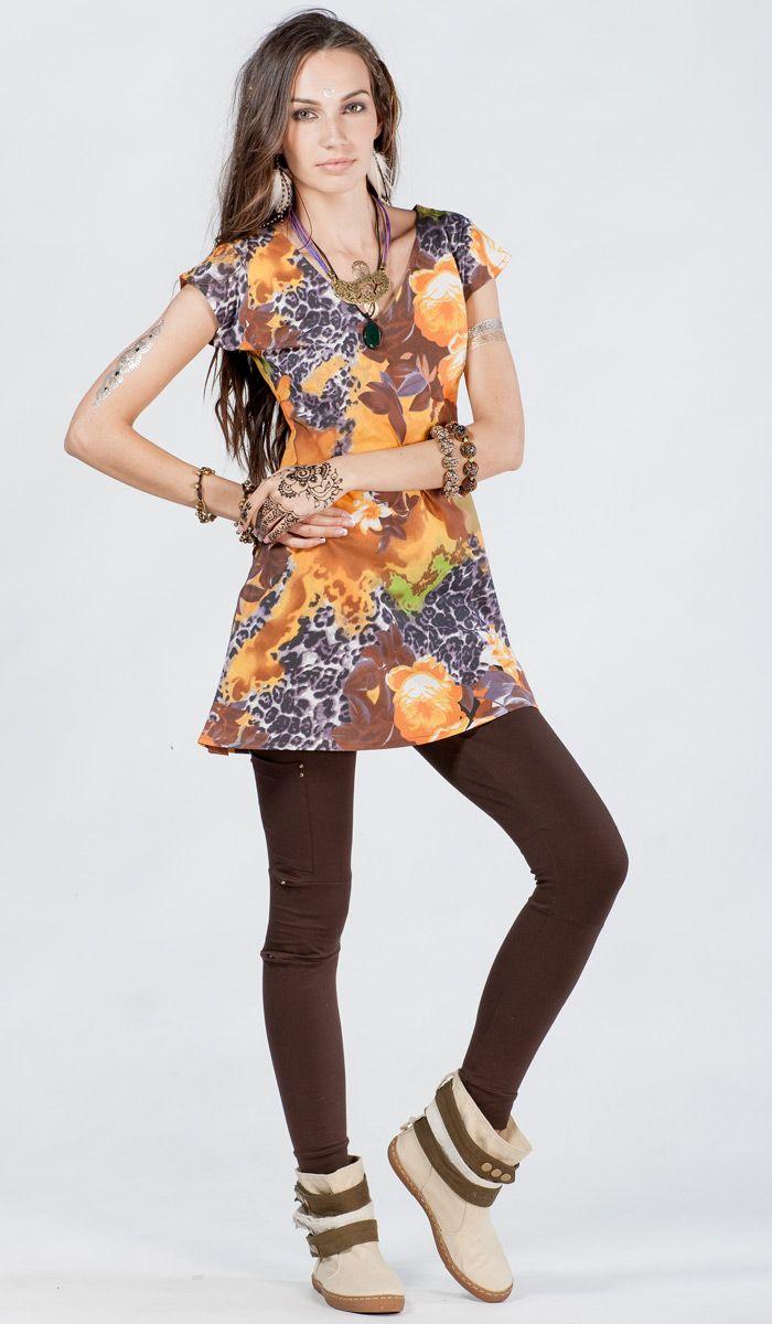 http://indiastyle.ru/products/plate-zheltymi-cvetami-4239 индийское платье-туника из хлопка, этническое платье, туника в стиле бохо, boho dress, dress bohemian style, indian print. 1120 рублей