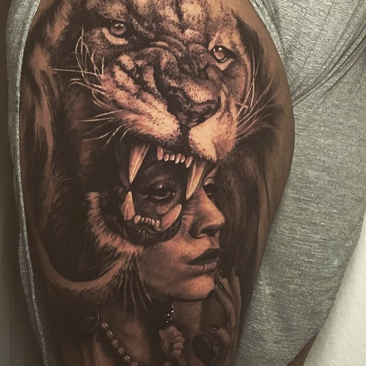 114 Best Leo Tattoos Images On Pinterest: 25+ Best Ideas About Lion Thigh Tattoo On Pinterest
