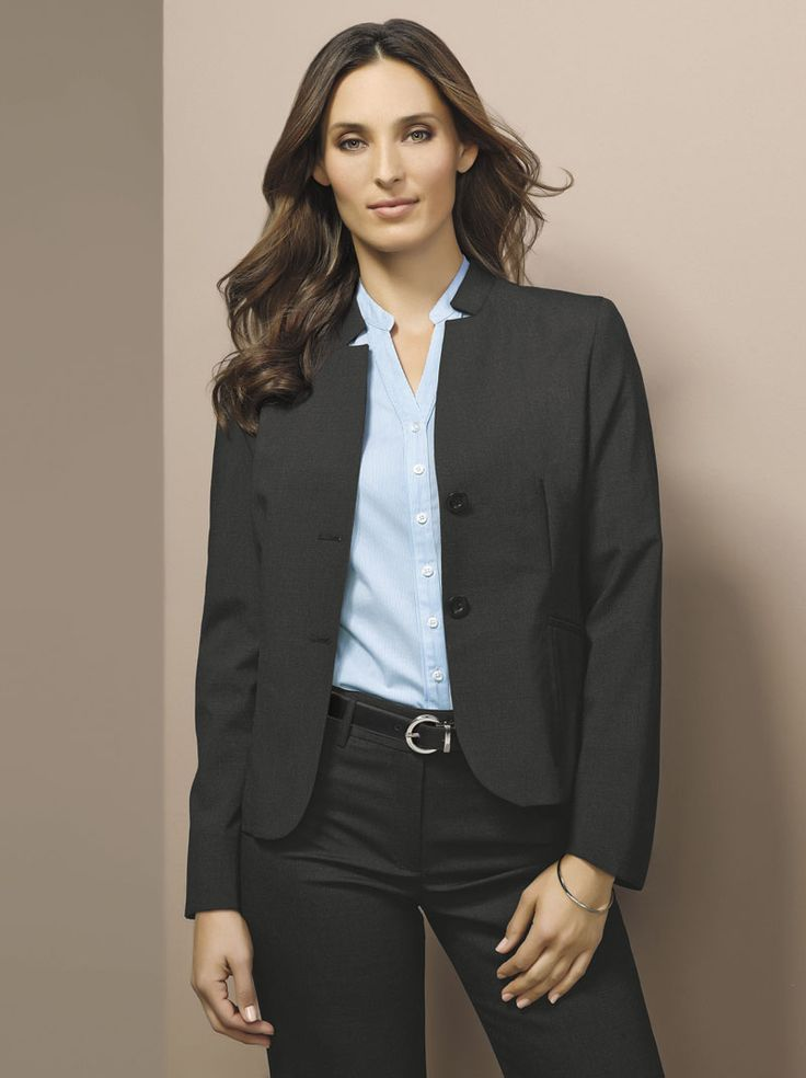 Wool Stretch Reverse Lapel Jacket and Relaxed Fit Pant #bizcorporates #woolstretch #boulevard #woolsuiting