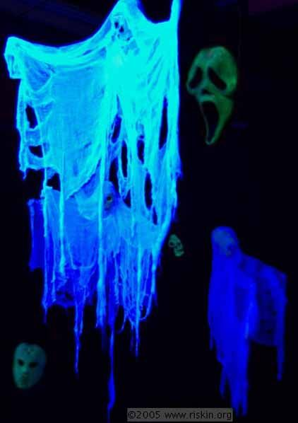 230 Best Black Light Decorating Ideas For Halloween Party