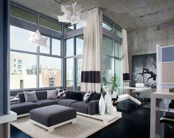 Die besten 25+ Gardinen wohnzimmer modern Ideen auf Pinterest - luxus wohnzimmer einrichtung modern