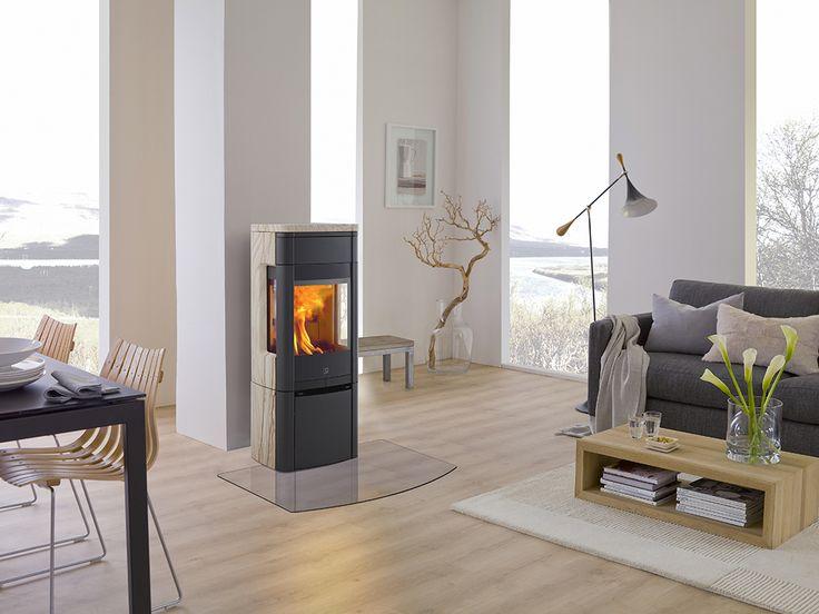 Poêle à bois haute performance #poêle #bois #nordique #design #chauffage #stove #wood #Scan #jotul #buches #atryhome