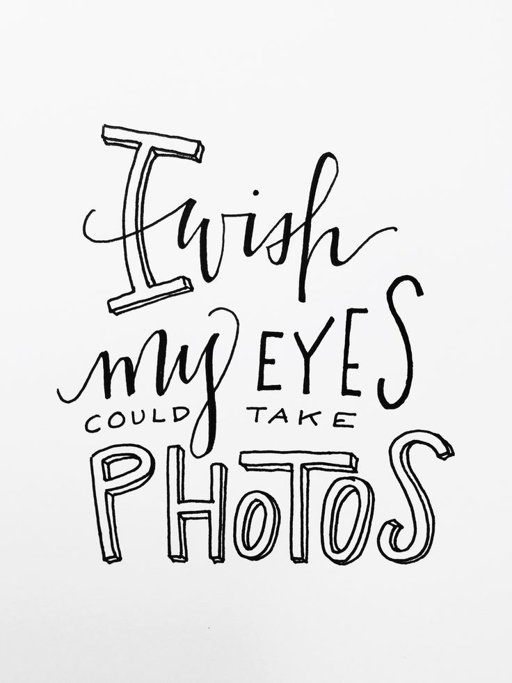 Ik wens dat mijn ogen foto's kunnen maken