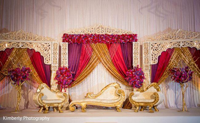 pakistani wedding decor                                                                                                                                                      More