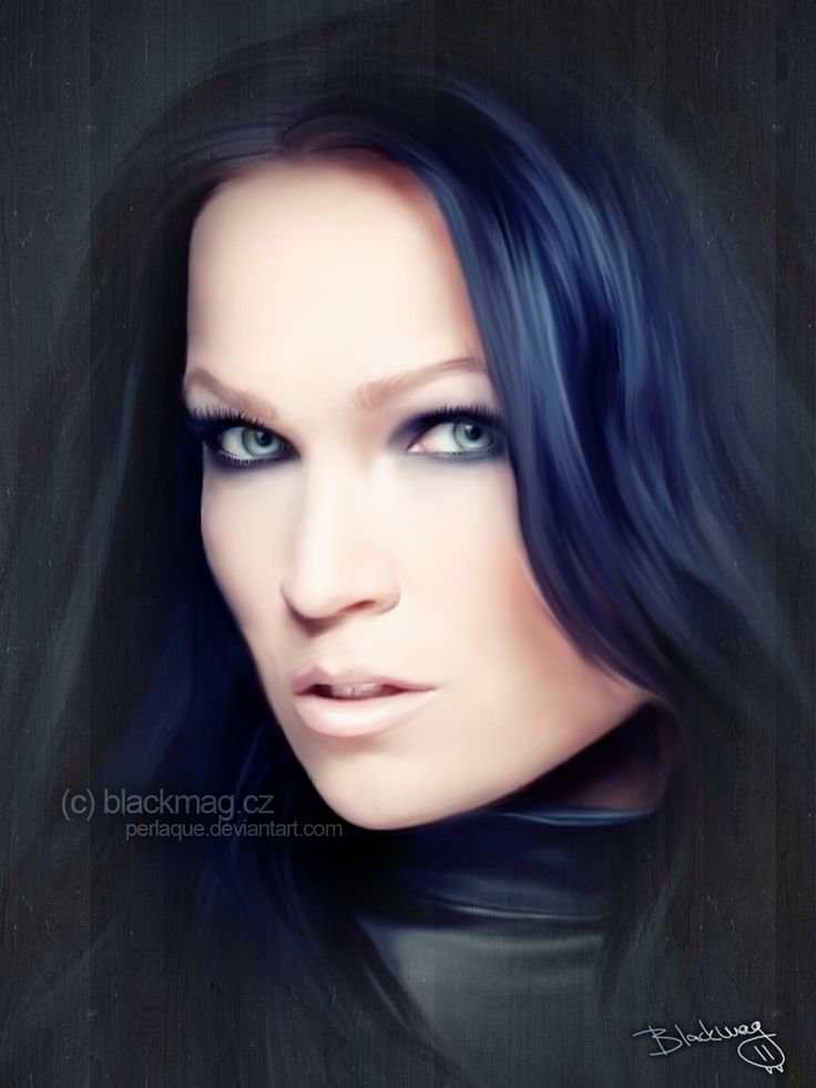 tarja turunen painting by perlaque.deviantart.com on @deviantART