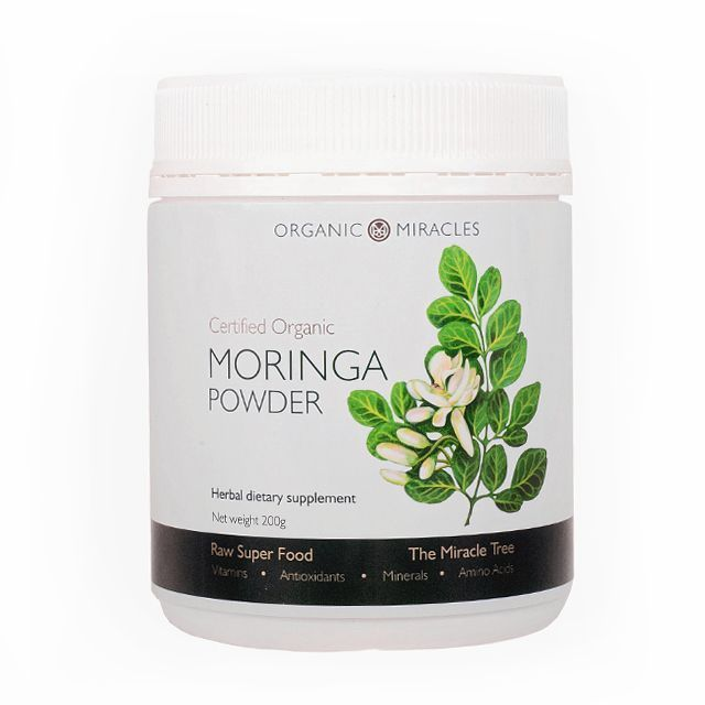 Organic Miracles Moringa powder