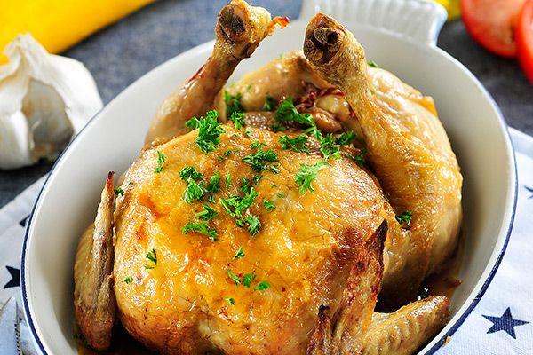 Philips Chef - Honing limoen kip gevuld met courgette