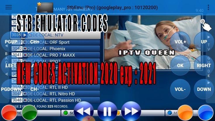 STB EMULATOR CODES stb emulator pro new 60 codes