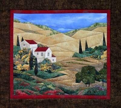 570 best Landscape quilts images on Pinterest | Landscapes, Cow ... : landscape quilt patterns - Adamdwight.com