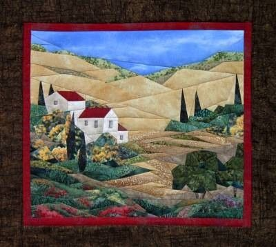 Wine Country Wall Quilt Pattern by England Design Studios