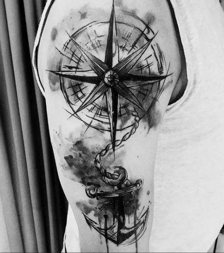 Tattoo Compass Rose Words 21 Ideas