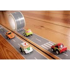 Image result for small machines cardboard racetrack