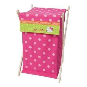 Lambs & Ivy Hello Kitty Garden Hamper, Pink