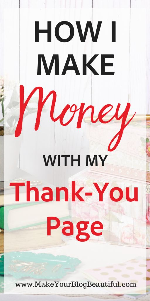 Is your email subscriber thank-you page working for you? After thanking your readers for subscribing to your email list, use this space to promote your products or affiliate products. Here's how I do it.