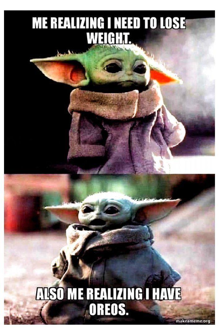 Baby Yoda Needs Oreos Throw Back Thursday Meme Baby Yoda Needs Oreos Yoda Funny Yoda Meme Funny Star Wars Memes