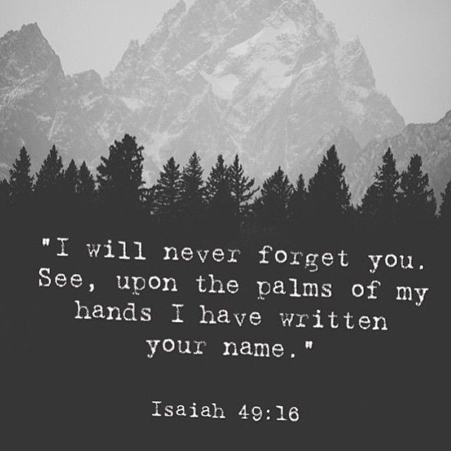 Best Inspirational  Quotes About Life    QUOTATION – Image :    Quotes Of the day  – Life Quote  #isaiah49 #palmofmyhand #jesus #god #bible #scripture #verse #isaiah  Sharing is Caring – Keep QuotesDaily up, share this quote !