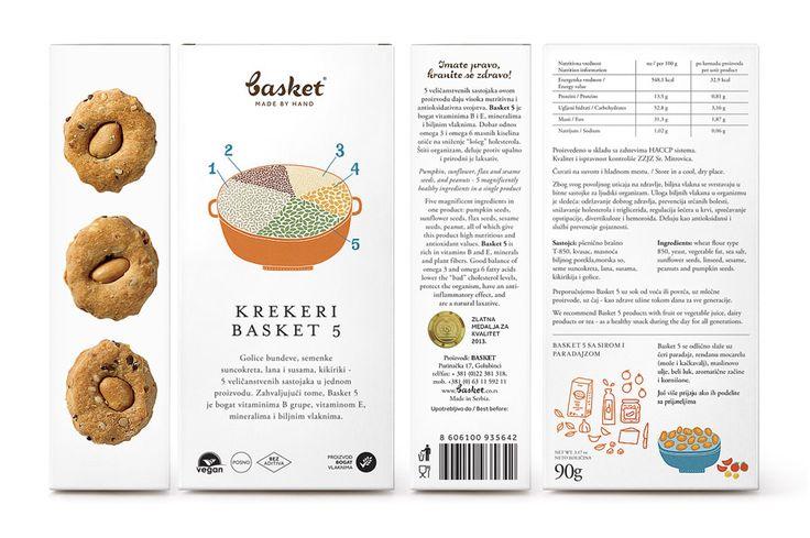 Basket Snacks designed by Peter Gregson