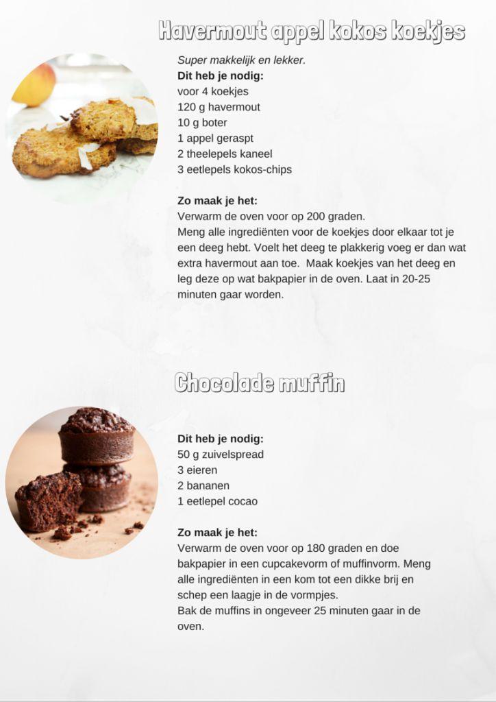 Verwen recepten voor kinderen