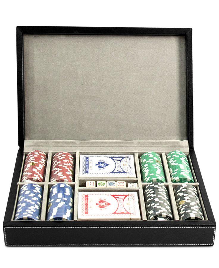 beyberk leather poker set - Poker Sets