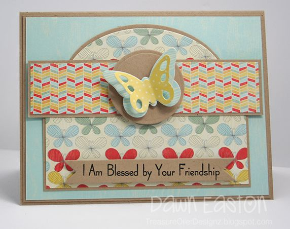 blessed by your friendship.: Butterfly Cards, Card Fun, Cardmaking, Friendship Cards, Cards 4, Card Scrap Ideas, Card Ideas, Card Making, Card Inspiration