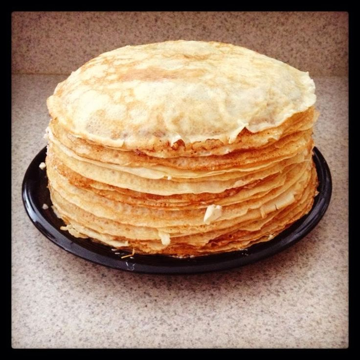 From Dasha With Love: Amazing Russian Authentic Crepe (Blini) Recipe