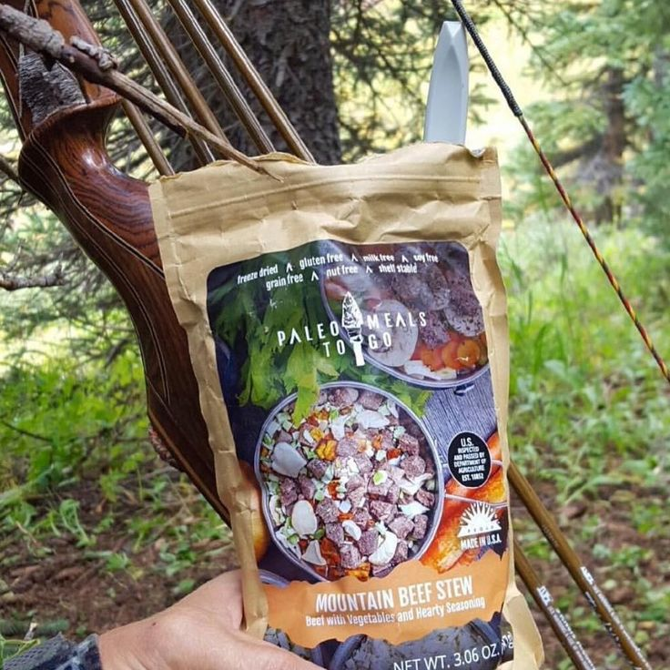 Bow hunters love our meals!  Paleo Meals To Go #hunt #hunting #hunter #bow #arrow #archery #archerdreamland #bowseason #bowhunting http://misstagram.com/ipost/1548024622422154128/?code=BV7sDE7B9uQ