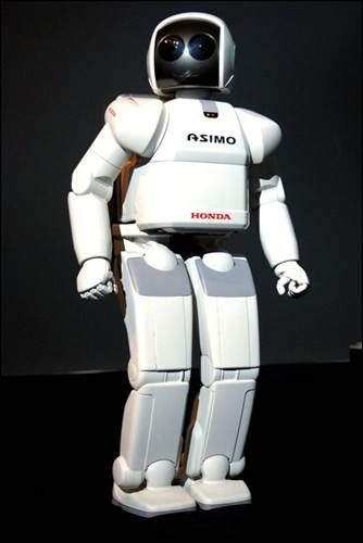 The Honda Asimo robot (real)
