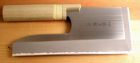 custom made cleaver | ... , Chinese Knives, Chinese Cleaver, Japanese Noodle Knives (Soba Kiri