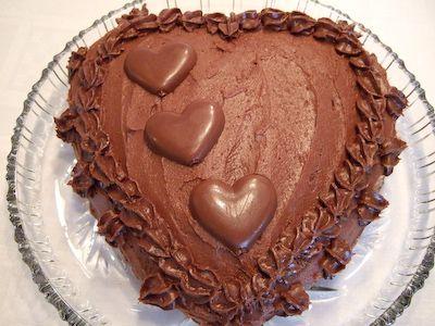 UtenMelk - Sjokoladekake