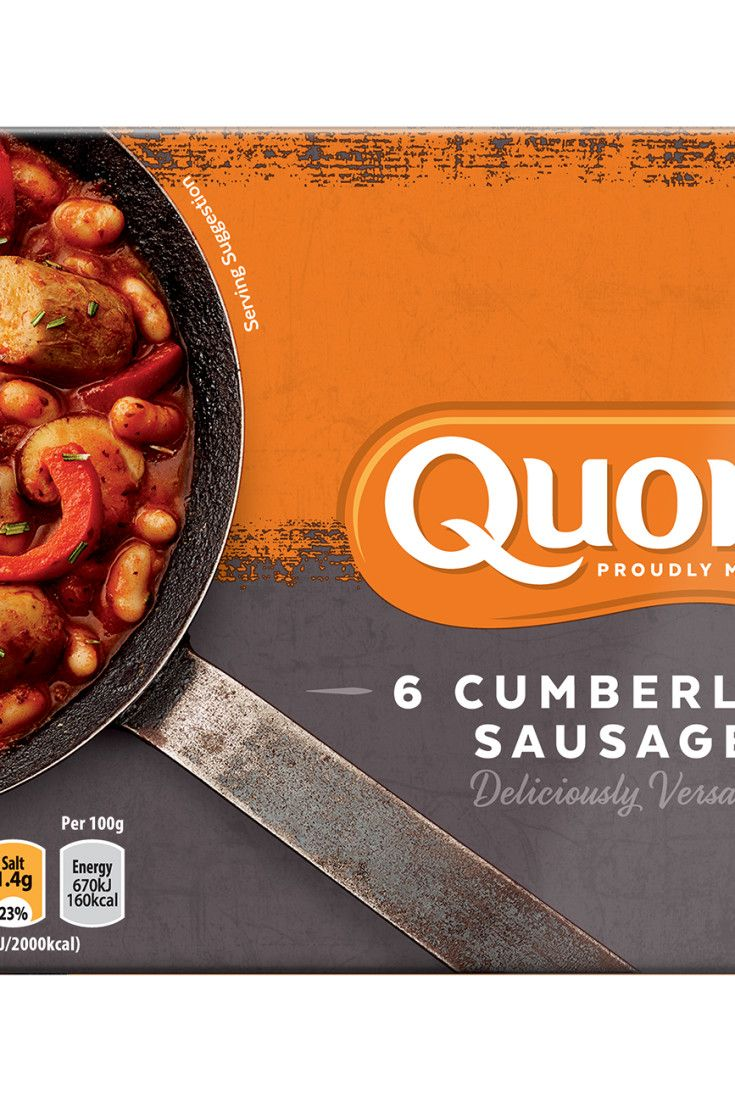 Try Quorn's meat free Cumberland Sausages for a healthier low in saturated fat alternative. You can still enjoy all of your favourite meals. Click to discover.