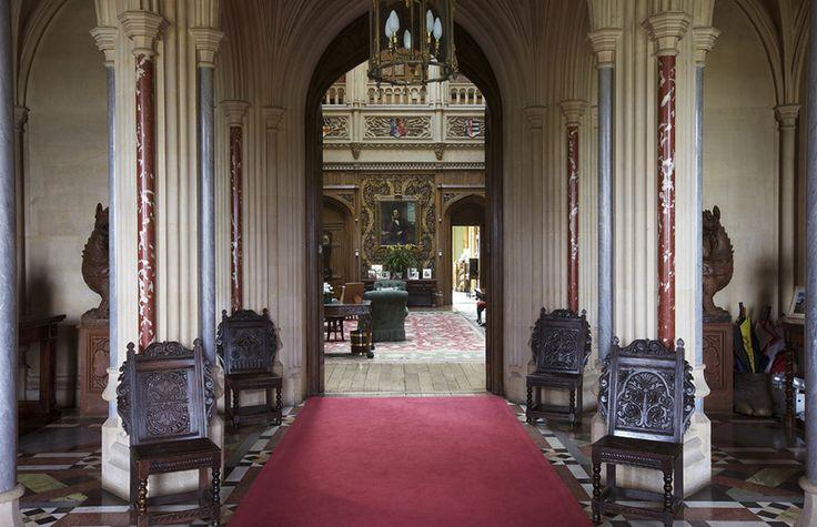 интерьеры замка даунтон