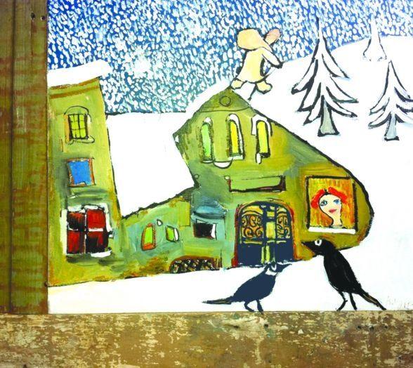 It's Winter by Gogi Chagelishvili (b1945 Tbilisi, Georgia)