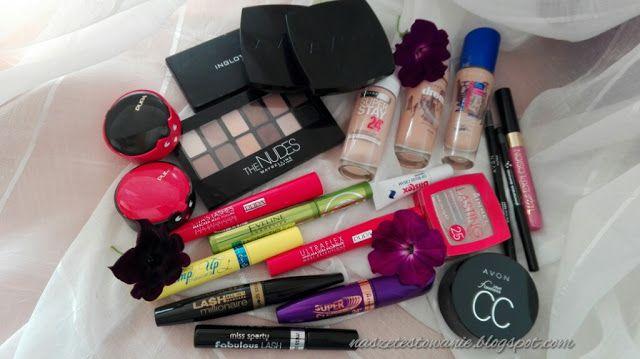 Nasze Testowanie: Opróżniamy nasze kosmetyczki - Kosmetyki do makija...