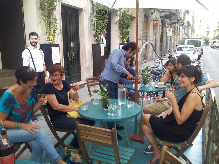 Degustazione guidata di #vermouth al termine del Vermouth #Tour delle Guide Bogianen